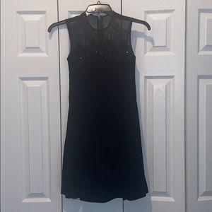 Formal black dress